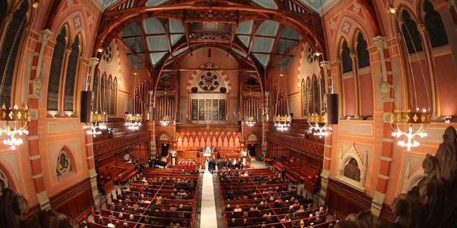 Old South Church in Boston wedding Boston
