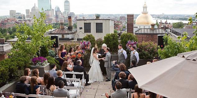 Mooo….& XV Beacon Hotel wedding Boston
