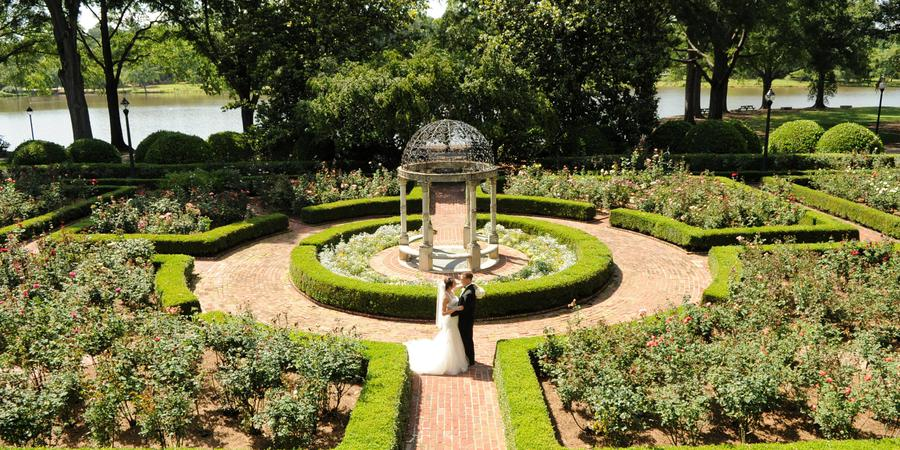 Janie E Furman Rose Garden wedding Greenville