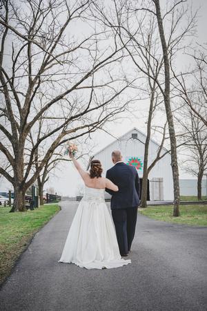 Red Orchard Barn wedding Louisville