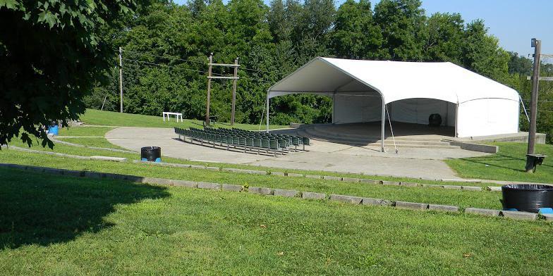 Clear Creek Park Amphitheater wedding Louisville
