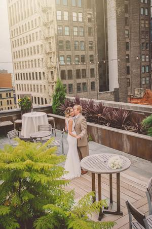 Hotel Metro wedding Milwaukee