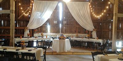 Weddings at Cosgray Christmas Trees wedding Northwest Indiana