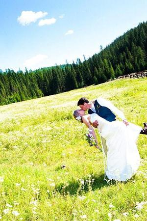 The Bar W Ranch wedding Montana