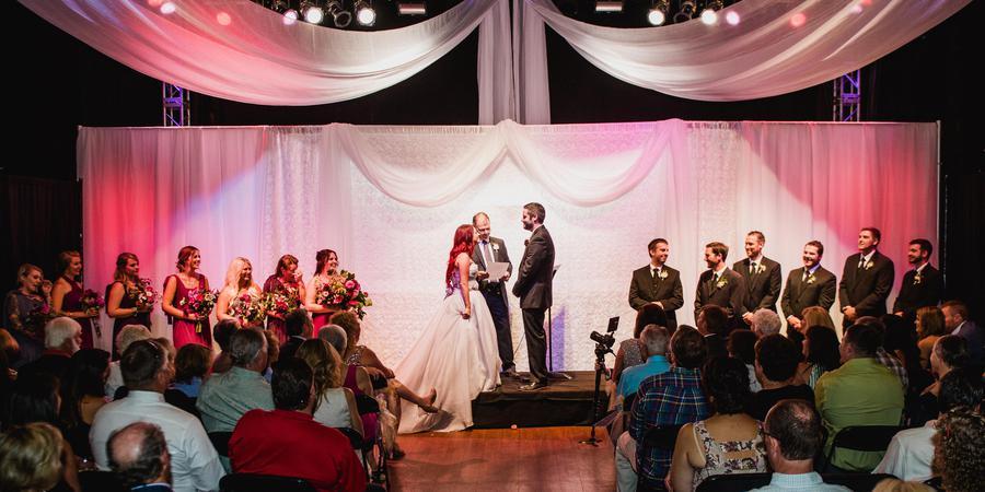 Knitting Factory Boise wedding Idaho