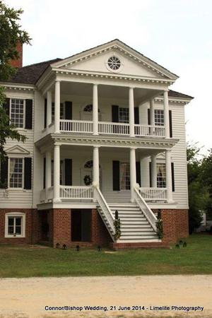 Kershaw-Cornwallis House wedding Columbia