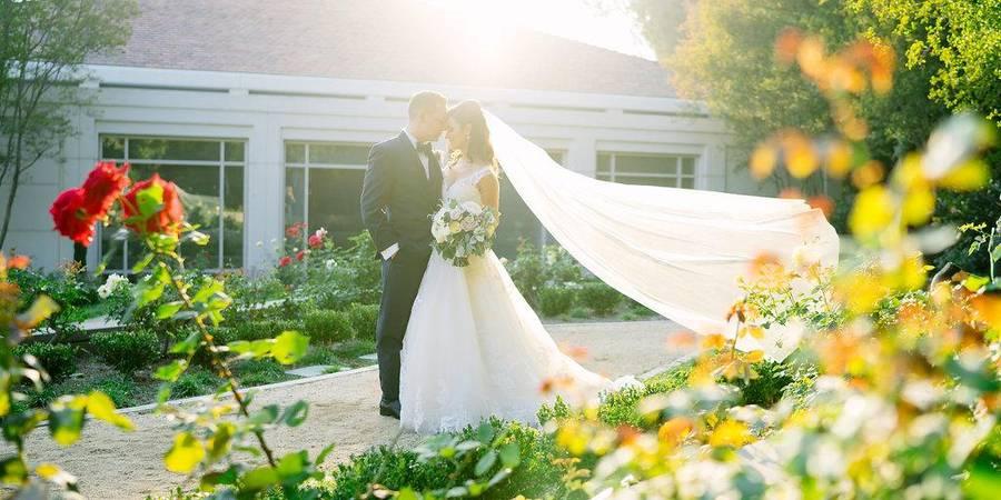 Richard Nixon Library and Birthplace wedding Orange County