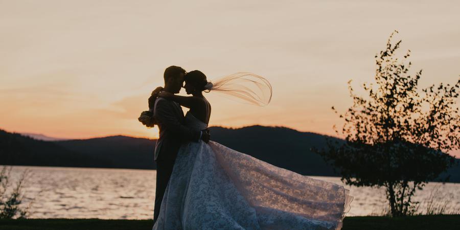 The Lodge at Whitefish Lake wedding Montana