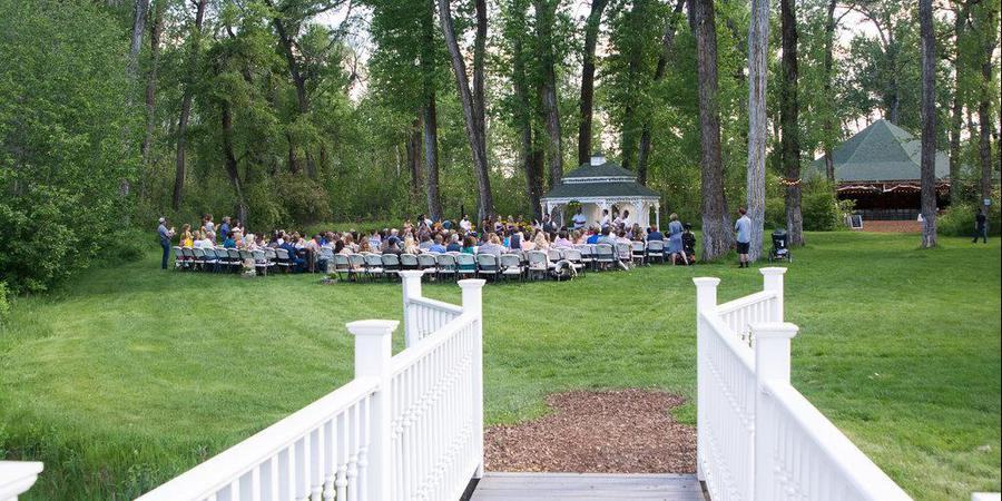 Gallatin River Hideaway - Bridal Veil Venue wedding Montana
