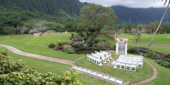 Ko'olau Ballrooms & Conference Center wedding Oahu