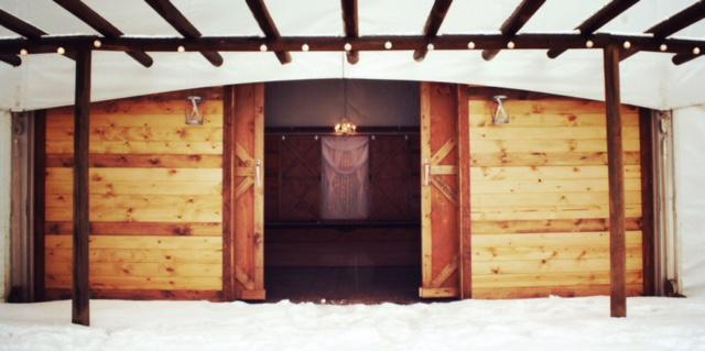 Gallatin River Hideaway - Creekside Pavilions wedding Montana