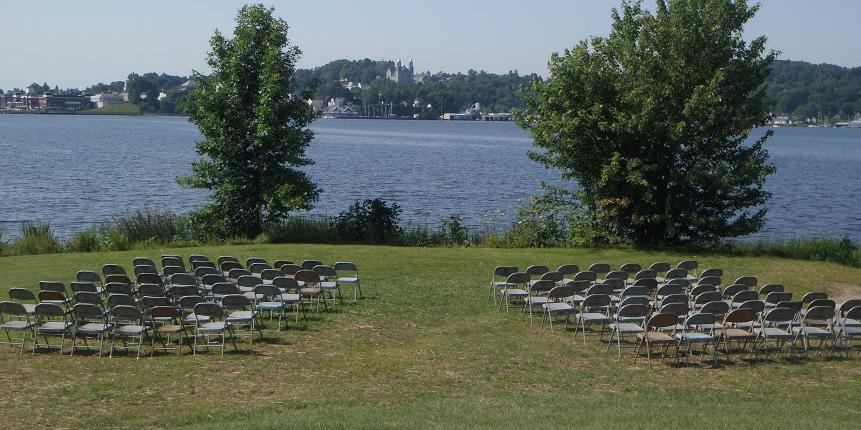 Prouty Beach & Campground wedding Vermont