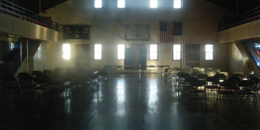 Armory Gymnasium wedding Vermont