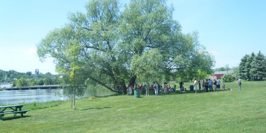 Gardner Memorial Park wedding Vermont