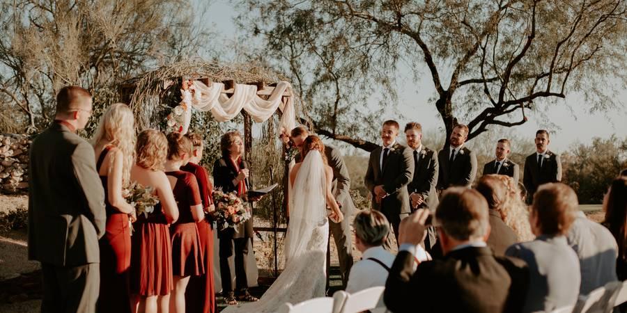 McDowell Mountain Golf Club wedding Phoenix/Scottsdale
