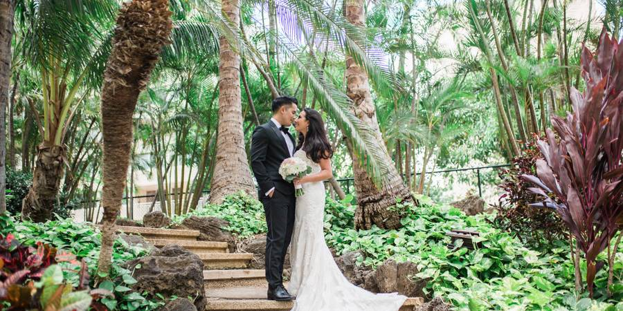 Hilton Waikiki Beach wedding Honolulu