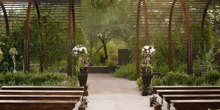Steele Herb Garden At Desert Botanical Garden Venue Phoenix