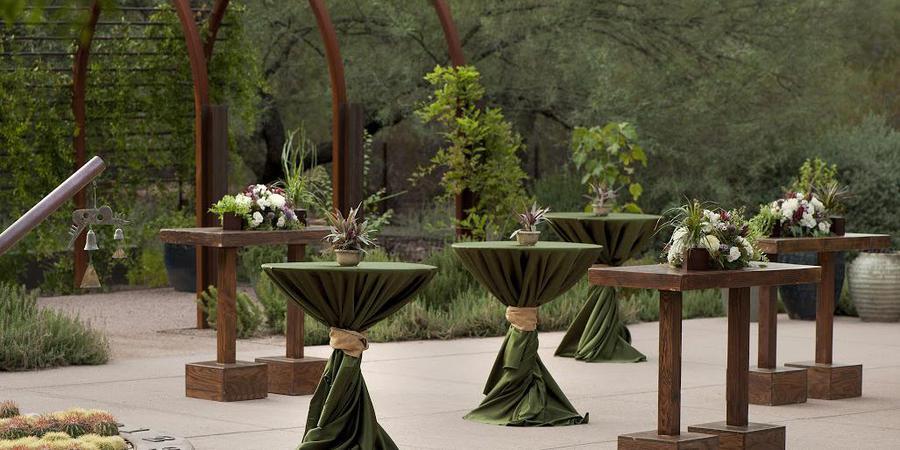 Steele Herb Garden at Desert Botanical Garden wedding Phoenix/Scottsdale