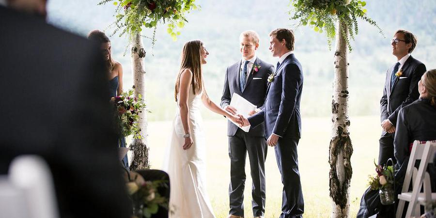 Aspen Ridge Ranch wedding Montana