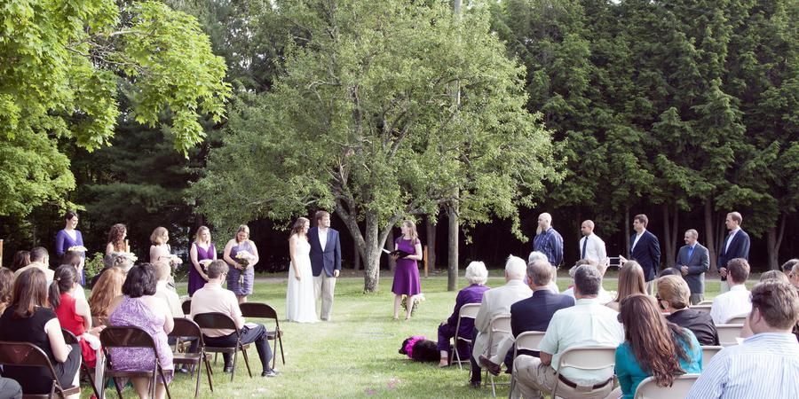 Mansfield's Holiday Hill Weddings and Parties wedding New London