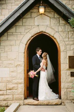 St. Paul's Episcopal Church wedding Boulder/Fort Collins