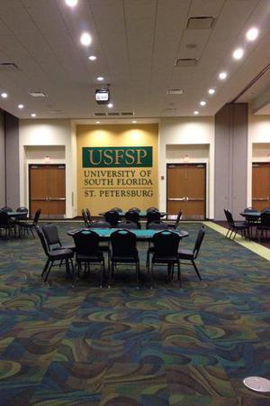 University Student Center at USF, St. Petersburg wedding Tampa