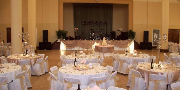 Scottish Rite Consistory wedding Des Moines