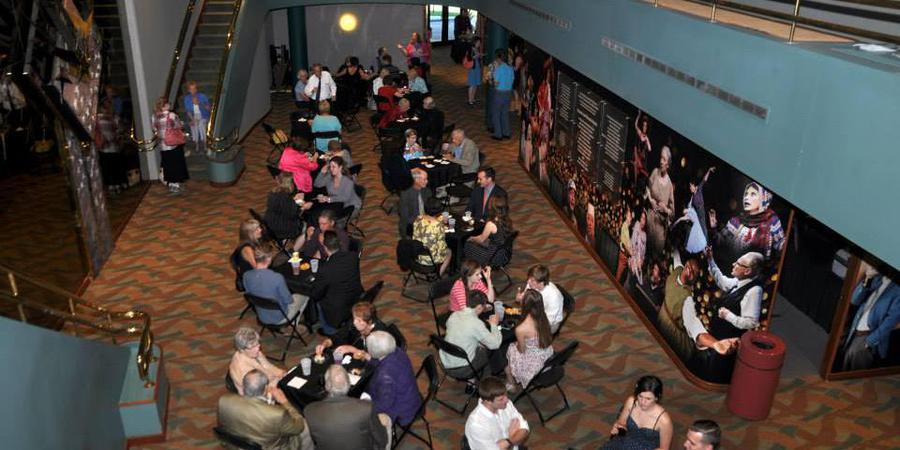 Omaha Playhouse wedding Nebraska