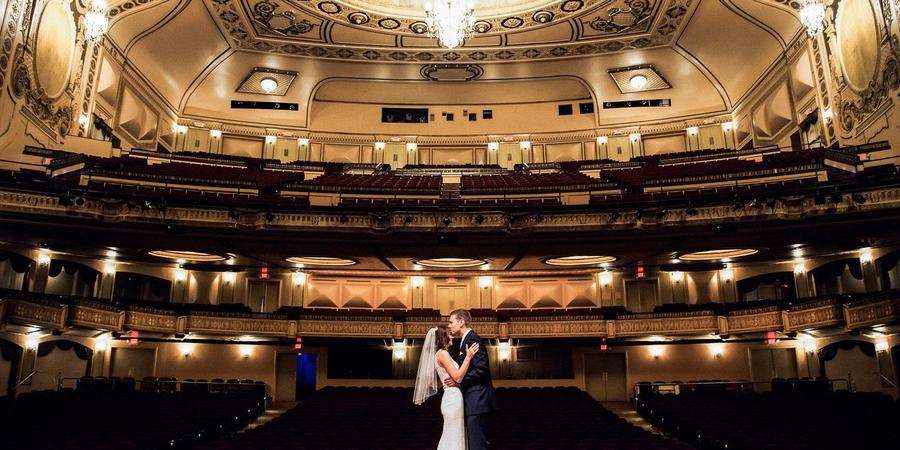 Orpheum Theater wedding Nebraska