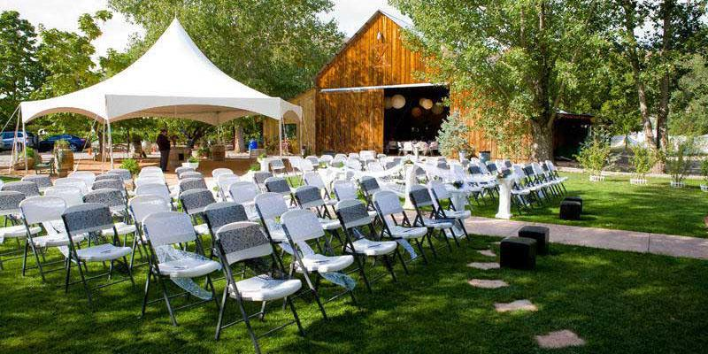 Amy's Courtyard wedding Aspen/Vail/High Rockies