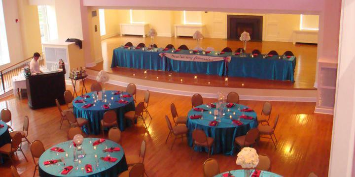 Senior Hall at Stephens College wedding St. Louis
