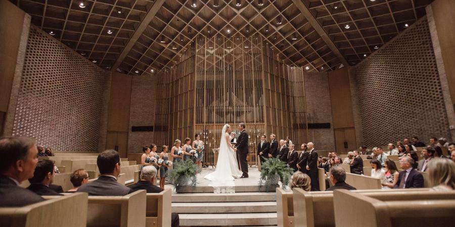 Firestone Baars Chapel at Stephens College wedding St. Louis