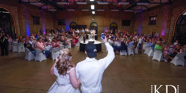Heritage Hall at the Kansas Expocentre wedding Kansas City