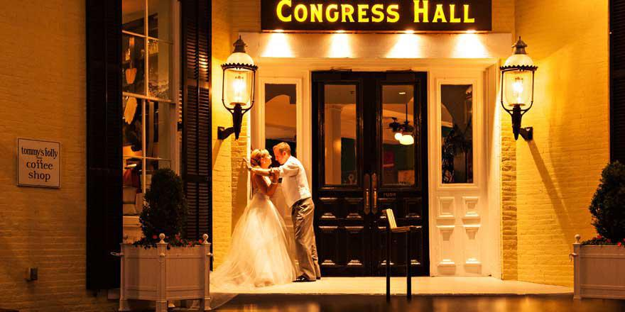 Congress Hall wedding South Jersey