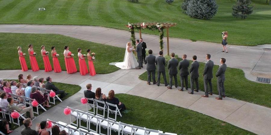 The Club at Indian Creek wedding Nebraska