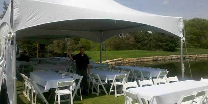 Deer Creek Golf Club wedding Kansas City
