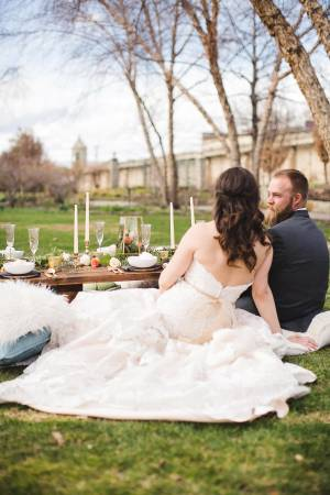 Idaho Botanical Garden wedding Idaho