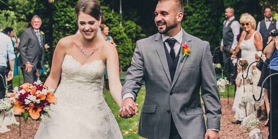 The Gardens Wedding Center wedding Milwaukee
