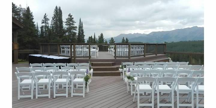 Uley's Cabin and Ice Bar wedding Aspen/Vail/High Rockies