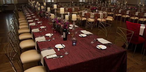 Oklahoma Memorial Union- Beaird Lounge wedding Oklahoma City