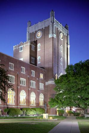 Oklahoma Memorial Union- Courtyard wedding Oklahoma City