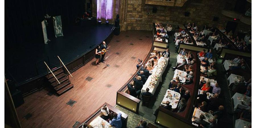 Rococo Theatre wedding Nebraska