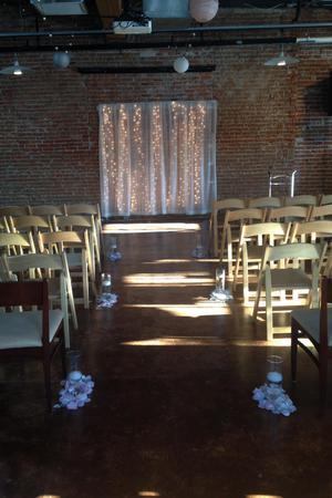 Beside Bardenay wedding Idaho