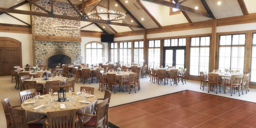 The Bog Golf Course wedding Milwaukee