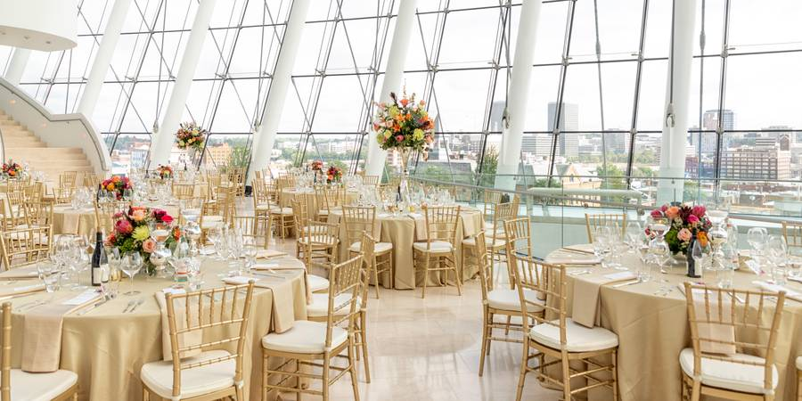 Kauffman Center for Performing Arts wedding Kansas City