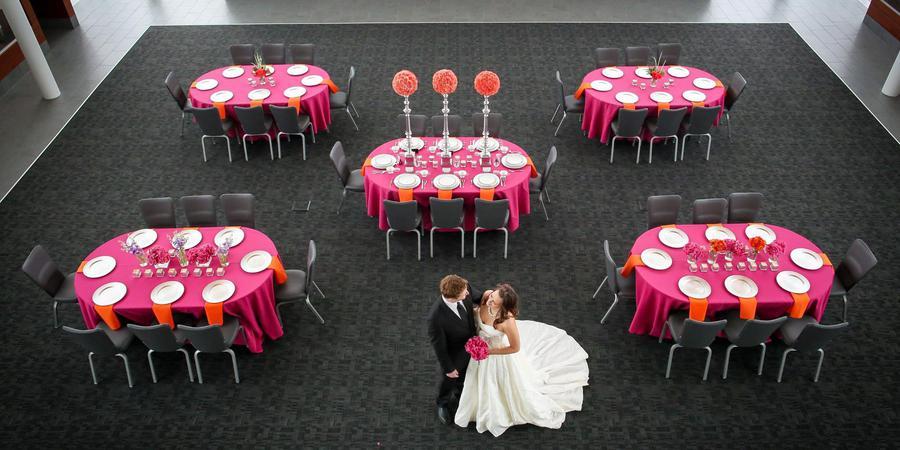 Gorecki Alumni Center wedding North Dakota