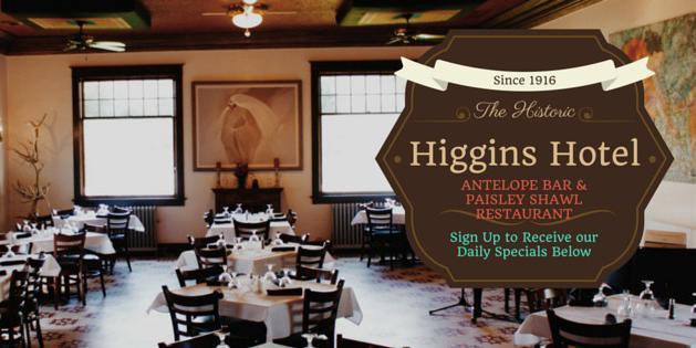 Higgins Hotel wedding Wyoming