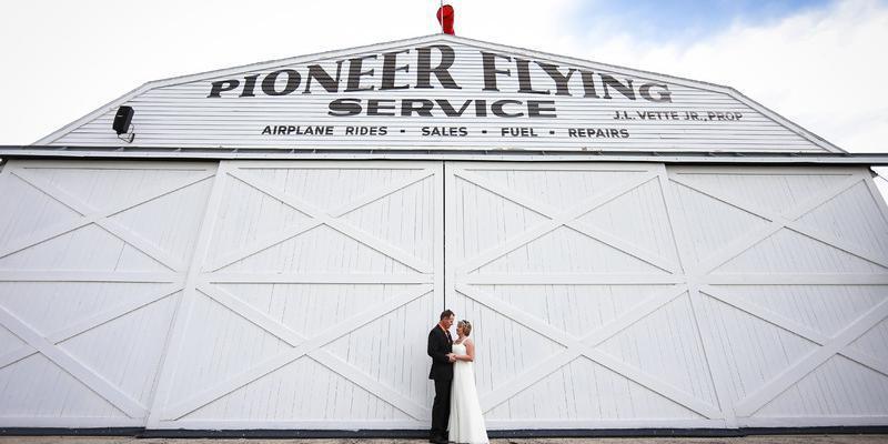 EAA Museum wedding Green Bay