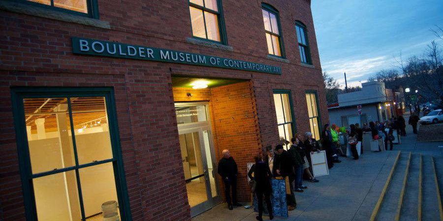 Boulder Museum of Contemporary Art wedding Denver
