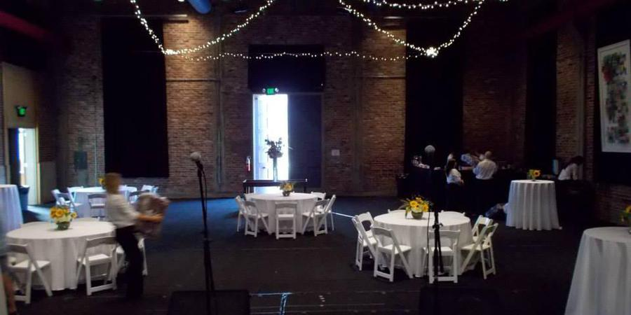 Powerhouse Community Arts Center wedding Mississippi